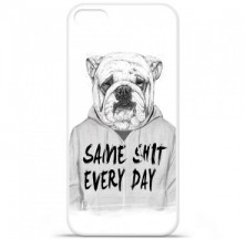 Coque en silicone Apple iPhone 5 / 5S - BS Same shit