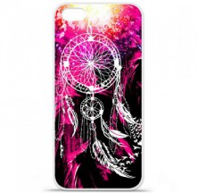 Coque en silicone Apple iPhone 5C - Dreamcatcher Rose