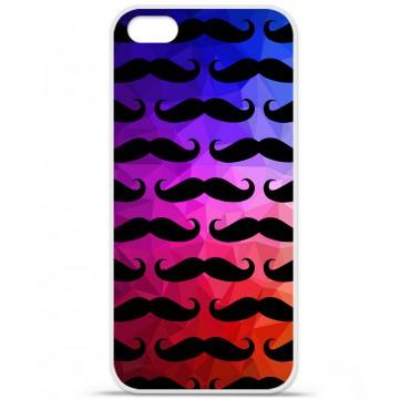Coque en silicone Apple iPhone 5C - Moustache