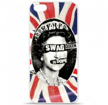 Coque en silicone Apple iPhone 5C - Swag Queen