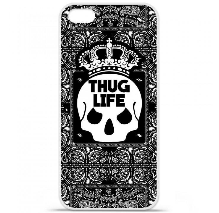 Coque en silicone Apple iPhone 5C - Thuglife