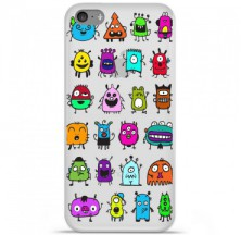 Coque en silicone Apple iPhone 5C - Alien