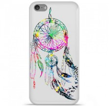 Coque en silicone Apple iPhone 5C - Dreamcatcher Gris