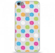 Coque en silicone Apple iPhone 5C - Floral