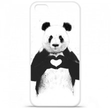 Coque en silicone Apple iPhone 5C - BS Love Panda