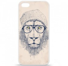 Coque en silicone Apple iPhone 5C - BS Cool Lion