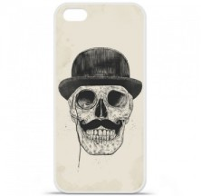 Coque en silicone Apple iPhone 5C - BS Class skull