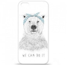 Coque en silicone Apple iPhone 5C - BS We can do it