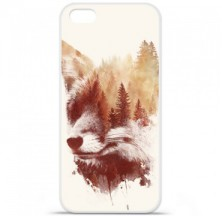 Coque en silicone Apple iPhone 5C - RF Blind Fox