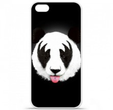 Coque en silicone Apple iPhone 5C - RF Kiss Of Panda