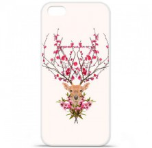 Coque en silicone Apple iPhone 5C - RF Spring deer