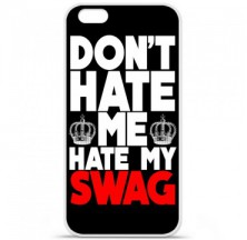 Coque en silicone Apple iPhone 6 / 6S - Swag Hate