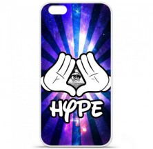Coque en silicone Apple iPhone 6 / 6S - Hype Illuminati