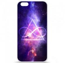 Coque en silicone Apple iPhone 6 / 6S - Infinite Triangle