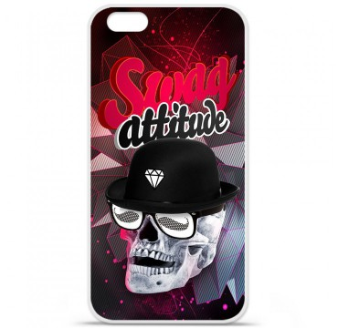 Coque en silicone Apple iPhone 6 / 6S - Swag Attitude