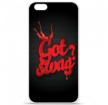 Coque en silicone Apple iPhone 6 / 6S - Swag Drop