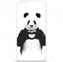 Coque en silicone Apple iPhone 6 / 6S - BS Love Panda
