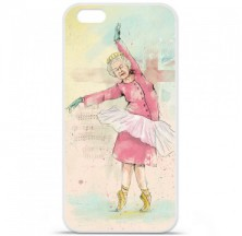 Coque en silicone Apple iPhone 6 / 6S - BS Dancing Queen