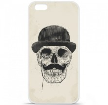 Coque en silicone Apple iPhone 6 / 6S - BS Class skull