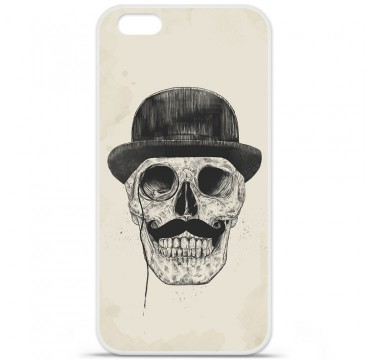 Coque en silicone Apple iPhone 6 / 6S - BS Class skull