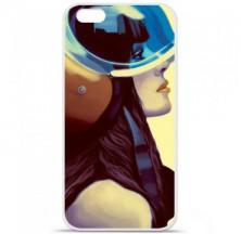 Coque en silicone Apple iPhone 6 / 6S - ML Helmetraus