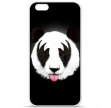 Coque en silicone Apple iPhone 6 / 6S - RF Kiss Of Panda