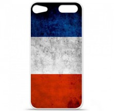 Coque en silicone Apple iPod Touch 5 / 6 - Drapeau France