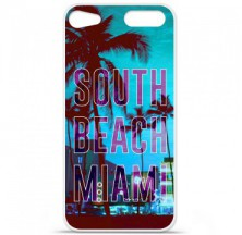 Coque en silicone Apple iPod Touch 5 / 6 - South beach miami