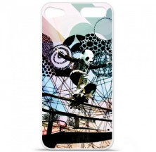 Coque en silicone Apple iPod Touch 5 / 6 - Panda skater