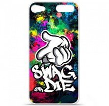Coque en silicone Apple iPod Touch 5 / 6 - Swag or die