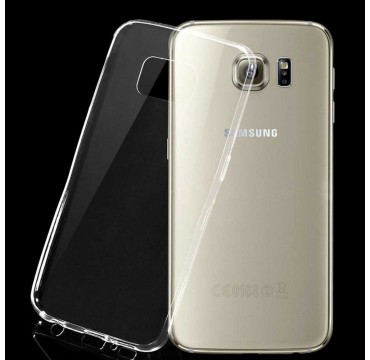 Coque Samsung Galaxy S6 Silicone Gel - Transparent