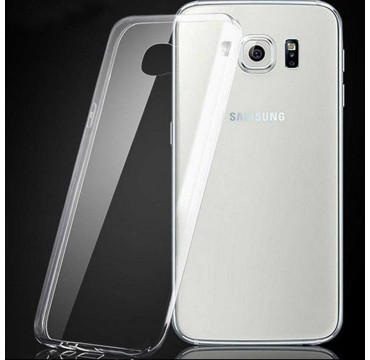 Coque Samsung Galaxy S6 Edge Silicone Gel - Transparent