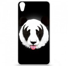 Coque en silicone HTC Desire 820 - RF Kiss Of Panda