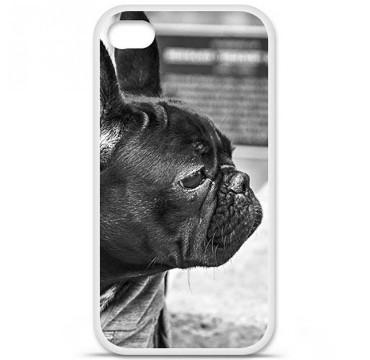 Coque en silicone Apple iPhone 4 / 4S - Bulldog