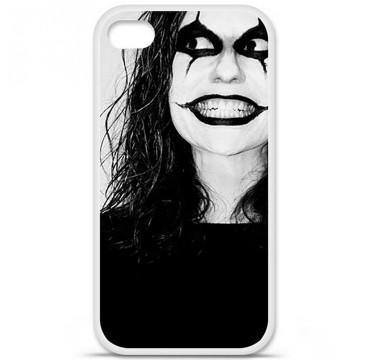 Coque en silicone Apple iPhone 4 / 4S - Crow