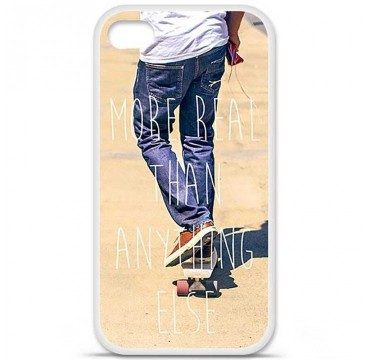 Coque en silicone pour Apple iPhone 4 / 4S - Real