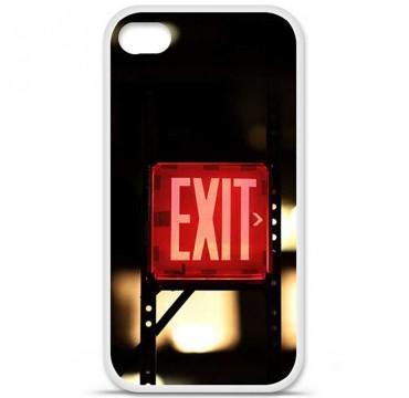 Coque en silicone Apple iPhone 4 / 4S - Exit