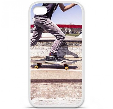 Coque en silicone Apple iPhone 4 / 4S - Skate