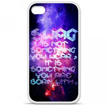 Coque en silicone Apple iPhone 4 / 4S - Cosmic swag
