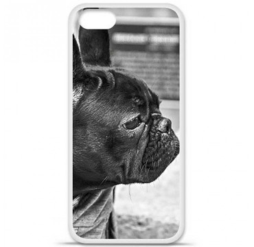 Coque en silicone Apple iPhone 5 / 5S - Bulldog