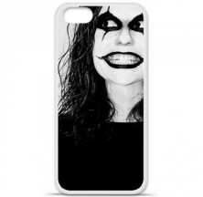 Coque en silicone Apple iPhone 5 / 5S - Crow