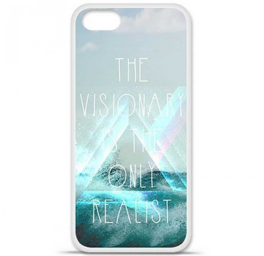 Coque en silicone Apple iPhone 5 / 5S - Visionary