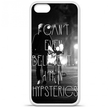 Coque en silicone Apple iPhone 5 / 5S - Hipsterics