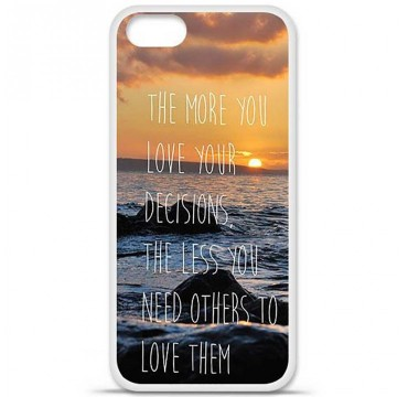 Coque en silicone Apple iPhone 5 / 5S - Sunshine