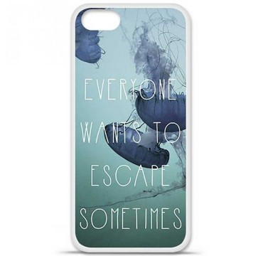 Coque en silicone Apple iPhone 5 / 5S - Escape