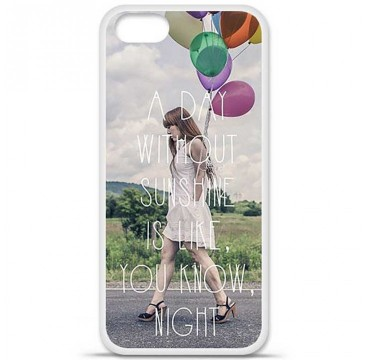 Coque en silicone Apple iPhone 5 / 5S - Woman