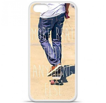 Coque en silicone pour Apple iPhone 5 / 5S - Real