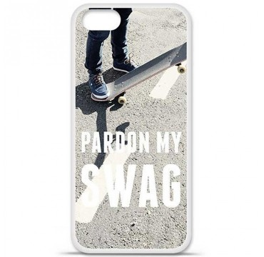 Coque en silicone Apple iPhone 5 / 5S - Swag