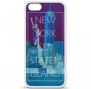 Coque en silicone pour Apple iPhone 5 / 5S - New york