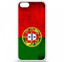 Coque en silicone Apple iPhone 5 / 5S - Drapeau Portugal